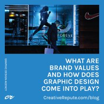 What Are Brand Values and How Does Graphic Design Come into Play?
