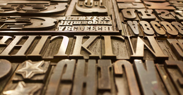 What's the Difference Between the terms Typography and Font?